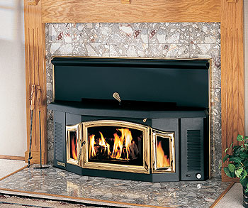 BV400C Wood Burning Fireplace Insert