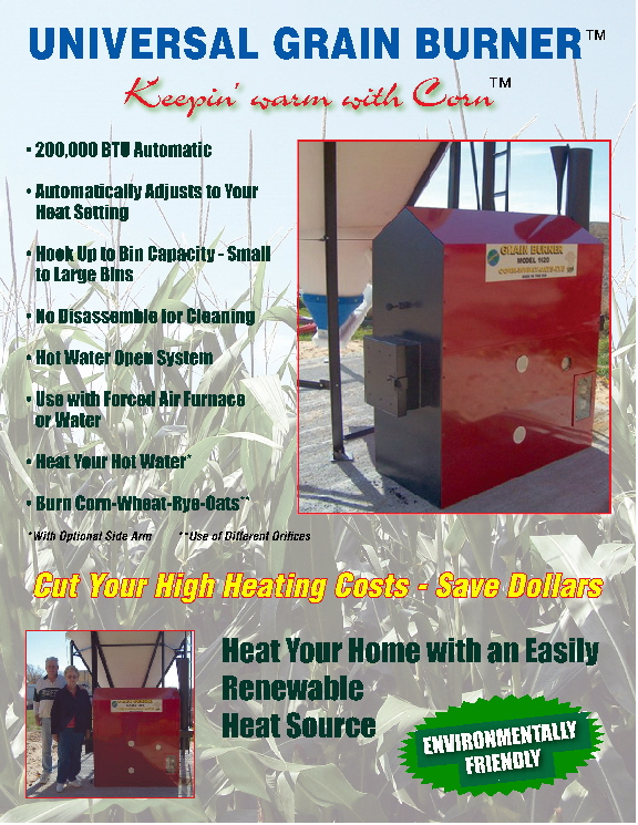 Universal Outdoor Corn Boiler