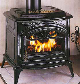 The Earth Stove Traditions T300 Wood Stove